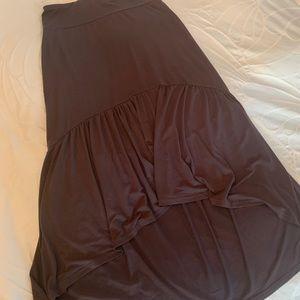 Boho High Low Maxi Skirt